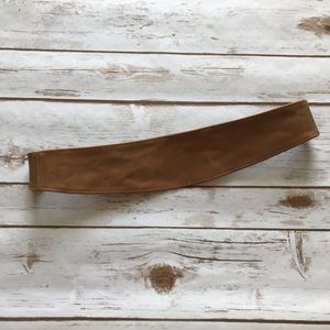 NWOT Anthropologie Size M Corset Style Brown Belt